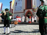 Hofheim 500 Jahre Festgodi 2020 Weihbischof 11