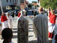 Hofheim 500 Jahre Festgodi 2020 Weihbischof 10