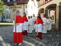 Hofheim 500 Jahre Festgodi 2020 Weihbischof 3