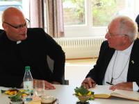Hofheim 500 Jahre Festgodi 2020 Weihbischof 18